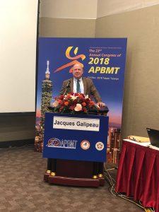 Galipeau at podium - APBMT